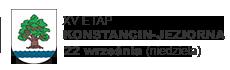 XV ETAP - KONSTANCIN-JEZIORNA